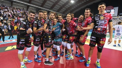Volley: Superlega, Perugia vince di forza l'anticipo con Civitanova