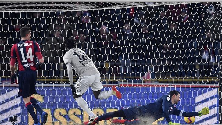 Coppa Italia Bologna-Juventus 0-2, il tabellino