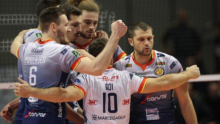 Volley: Superlega, Ravenna supera Monza in cinque set
