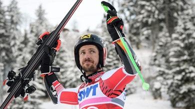 Sci, Hirscher trionfa nello slalom speciale di Adelboden