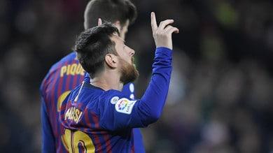 Liga: Messi-show contro l'Eibar, Dani Ceballos salva il Real Madrid