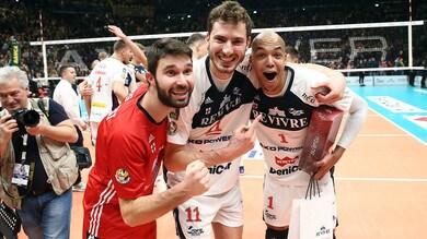 Volley: Superlega, Trento mantiene la vetta, Milano fa impazzire il Forum