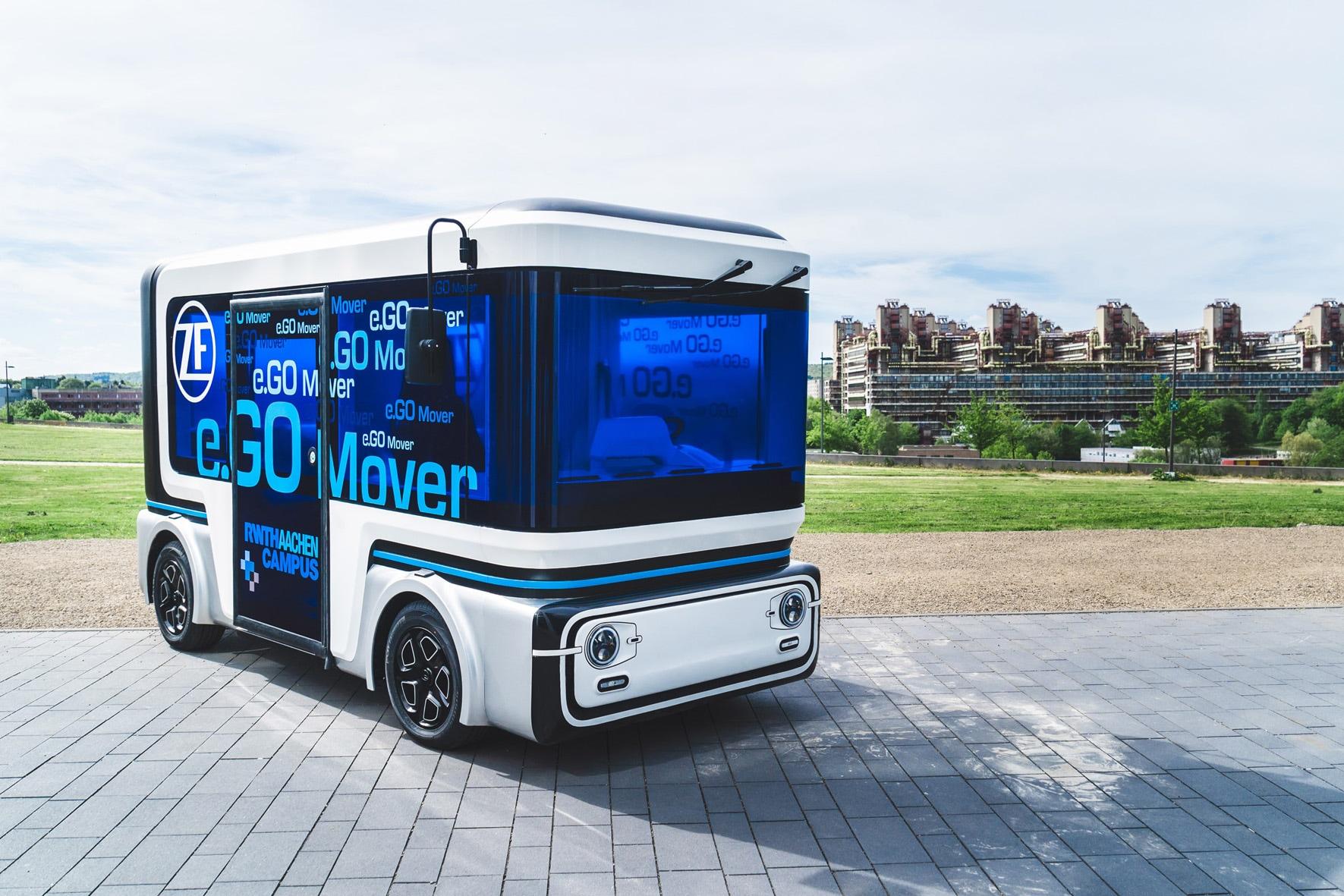 Elettrica e autonoma: ecco la navetta per il trasporto pubblico futuro