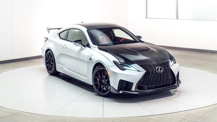 Lexus RC F Track Edition, l'animale da pista
