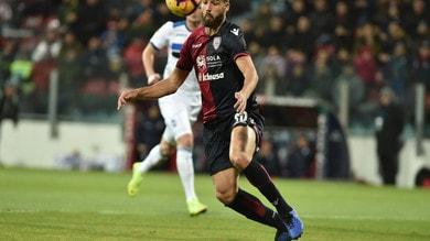Serie A Cagliari, fermo Pavoletti dopo la contusione al ginocchio