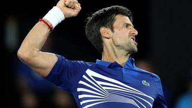 Tennis, Australian Open: avanzano Fognini, Djokovic e Wawrinka