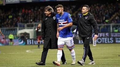Serie A Sampdoria, si ferma Linetty: trauma distorsivo-contusivo alla caviglia