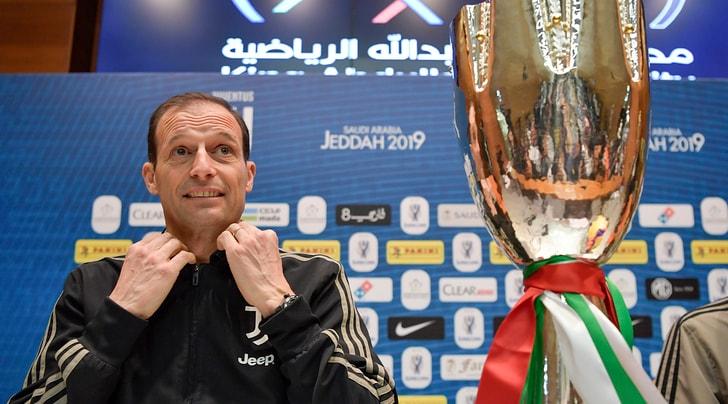 Allegri: «L'obiettivo della Juventus è vincere tutto»