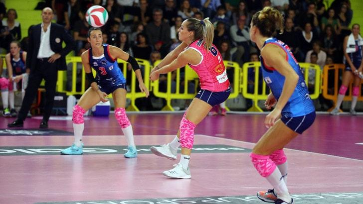 Volley: Coppa Italia A1 Femminile, Scandicci vince in trasferta contro Firenze