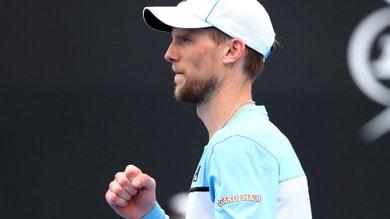 Tennis, Australian Open: Seppi, sfida in equilibrio con Tiafoe