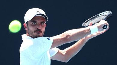 Tennis, Australian Open: Fabbiano vero gigante, bene Nadal e Federer