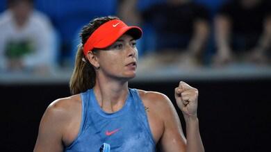 Tennis, Australian Open: dominio Sharapova, ora sfiderà la Wozniacki