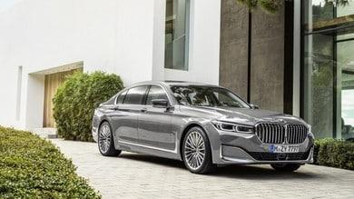 BMW Serie 7 restyling, l'ammiraglia bavarese si rinnova
