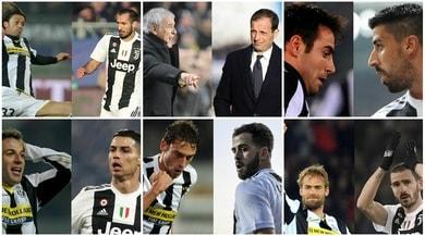 #10YearChallenge, ecco come è cambiata la Juventus dal 2009 al 2019