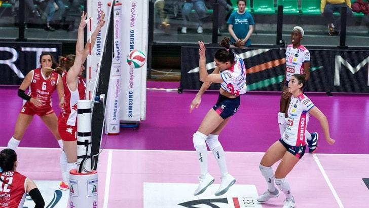 Volley: Coppa Italia Femminile, Novara, Conegliano e Busto ok in trasferta