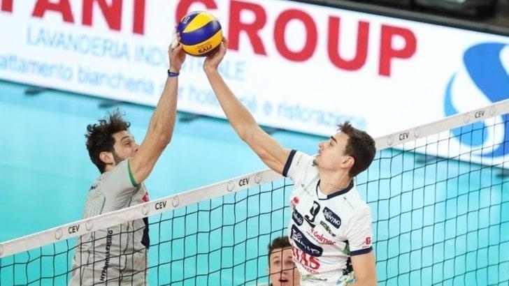Volley: Cev Cup, Trento batte l' Hypo Tirol anche nella gara di ritorno