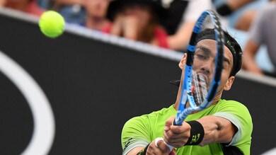 Tennis, Australian Open: Fognini ok contro Carreño