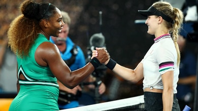 Tennis, Australian Open: Giorgi facile, rischia Halep, Serena Williams show