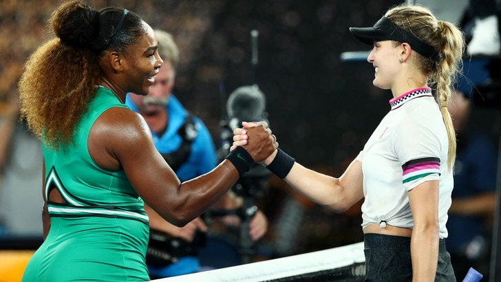 Tennis, Australian Open: Giorgi facile, rischia Halep, Serena Williams show