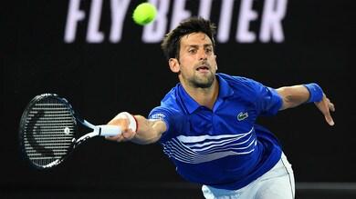 Australian Open 2019: Fognini batte Mayer, avanti Djokovic