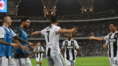 Juventus super,nelle quote può arrivare il triplete