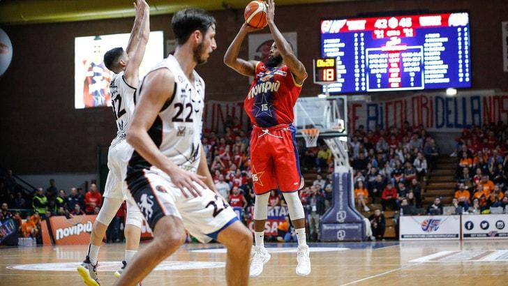 Basket, A2: Casale regina dall'arco, da tre tira più dell'Olimpia Milano