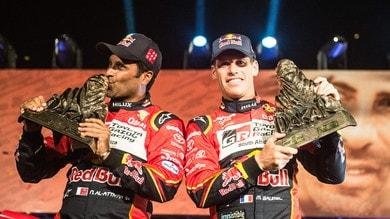 Rally, Dakar: Al-Attiyah regala il trionfo alla Toyota