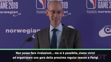 "Commissioner NBA: ""Prossima tappa Parigi"""