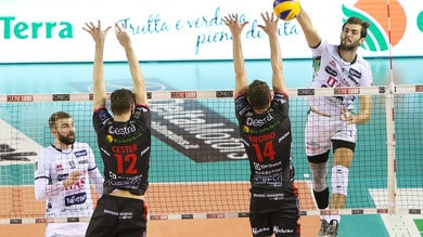 Volley: Superlega, il big match  della 5a è Trento-Civitanova