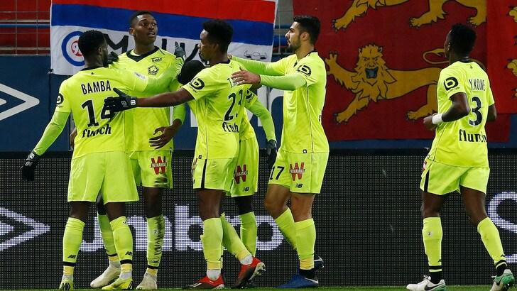 Ligue 1, il Lilla supera l'Amiens in extremis. Xeka decisivo