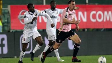 Serie B Palermo-Salernitana, colpo di Casasola nel recupero: è 1-2