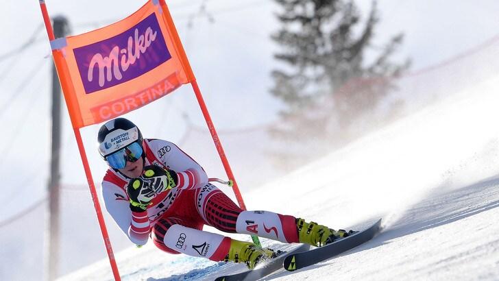 Sci, discesa libera Cortina: vince ancora Siebenhofer. Undicesima Nicole Delago