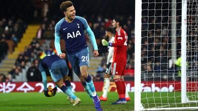 Premier League: il Manchester City domina, il Tottenham inguaia il Fulham