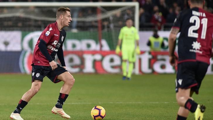 Serie A Cagliari, lavoro differenziato per Birsa e Théréau