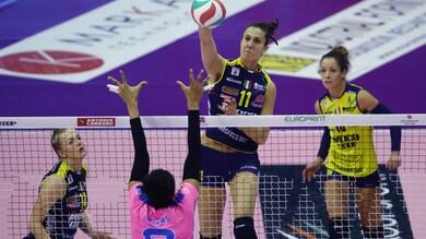 Volley: Coppa Italia A1 Femminile, Novara e Conegliano chiudono i conti