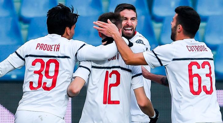 Genoa-Milan 0-2, senza Higuain ci pensano Borini e Suso: rossoneri di nuovo al 4° posto