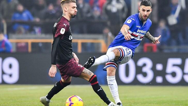 Serie A Sampdoria, lavoro individuale per Murru, Sala e Tonelli