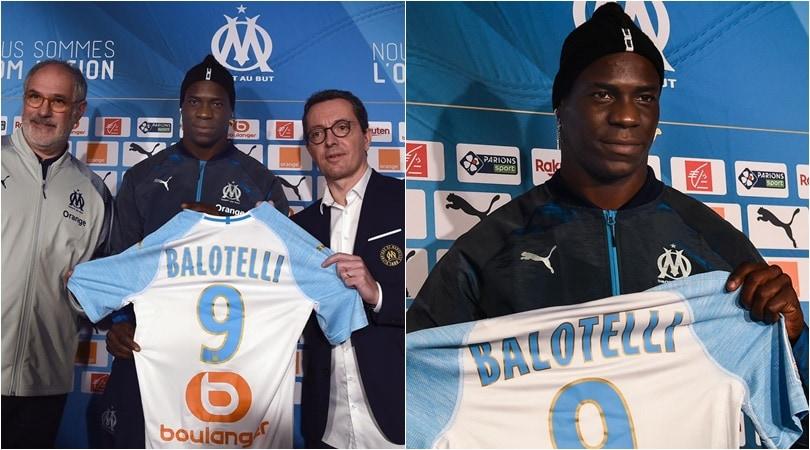 Balotelli a Marsiglia: ha scelto il numero 9