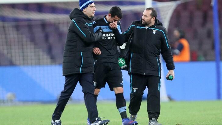 Lazio, Luiz Felipe out 3 settimane: difesa da inventare con la Juventus