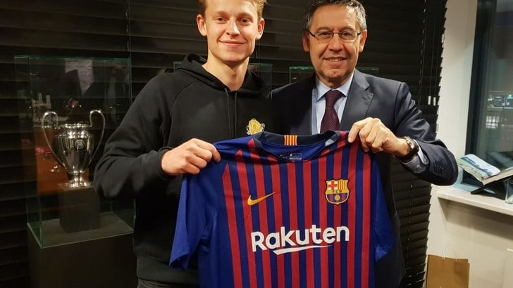 Il Barcellona prende De Jong, la Juventus come risponde? Non solo con Ramsey