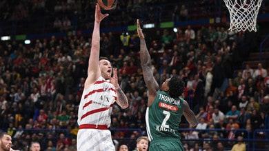Basket, Eurolega: Milano ritrova il sorriso, battuto lo Zalgiris