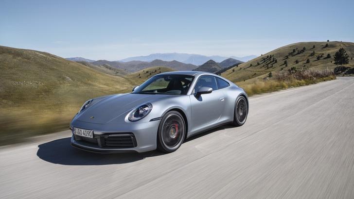 Porsche 911 '992', la prova