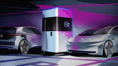 Volkswagen Group Components firma i fast recharger