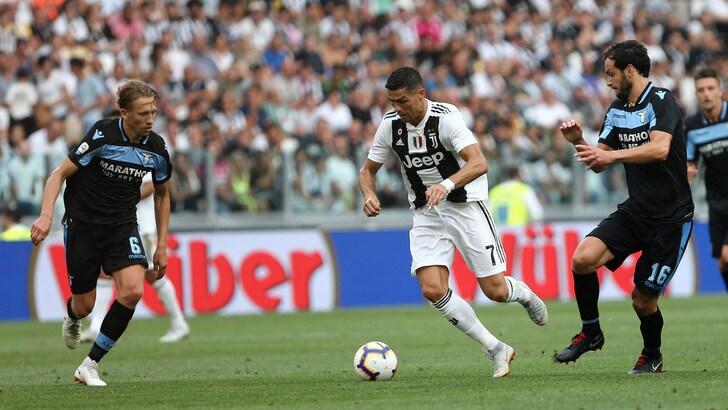 Serie A, Juve a 1,85 contro l'insidia Lazio