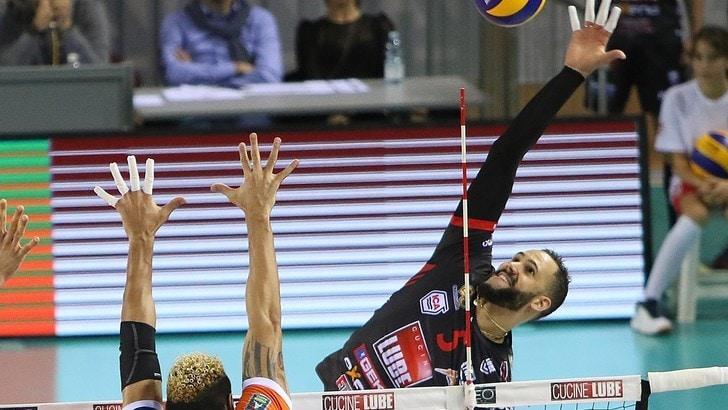 Volley: Superlega, Juantorena si ferma per problemi muscolari