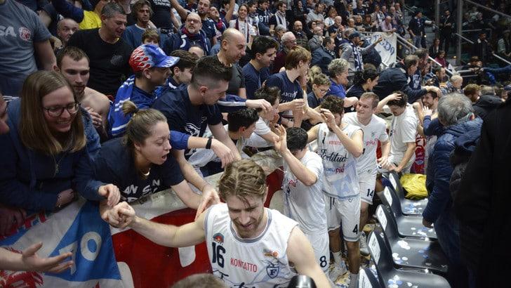 Basket Serie A2, la Fortitudo Bologna vince su Treviso. Montegranaro e Siena ok