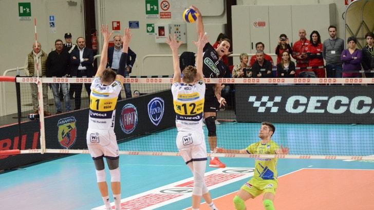 Volley: Superlega, vincono Perugia, Trento e Civitanova, Modena perde un punto