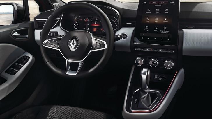 Nuova Renault Clio, le foto dell'abitacolo
