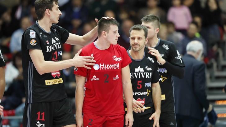 Volley: Superlega, Milano-Sora domani sera chiudono la 6a giornata