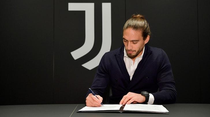 Juventus, ufficiale Caceres: prestito fino a giugno